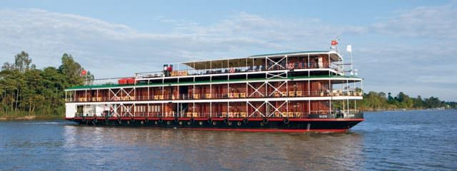 Uniworld River Orchid Cruise Ship. Photo Courtesy of Uniworld.