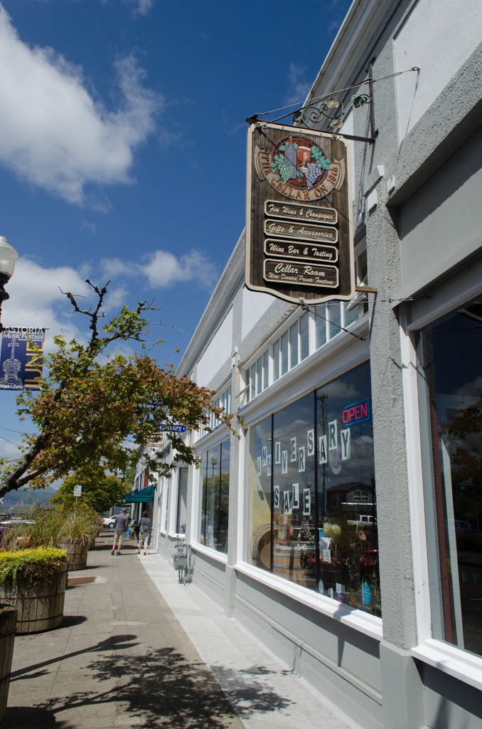 Streets are quaint and navigable...and filled with a surprising amount of Goonies merchandise! Photo © 2015 Aaron Saunders