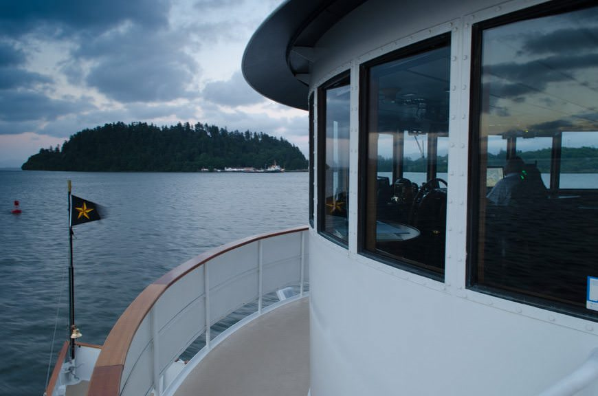 Setting sail for Portland, Oregon...Photo © 2015 Aaron Saunders