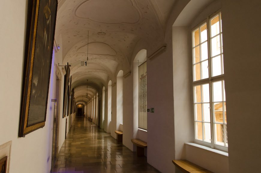 Entering Melk Abbey...Photo © 2015 Aaron Saunders