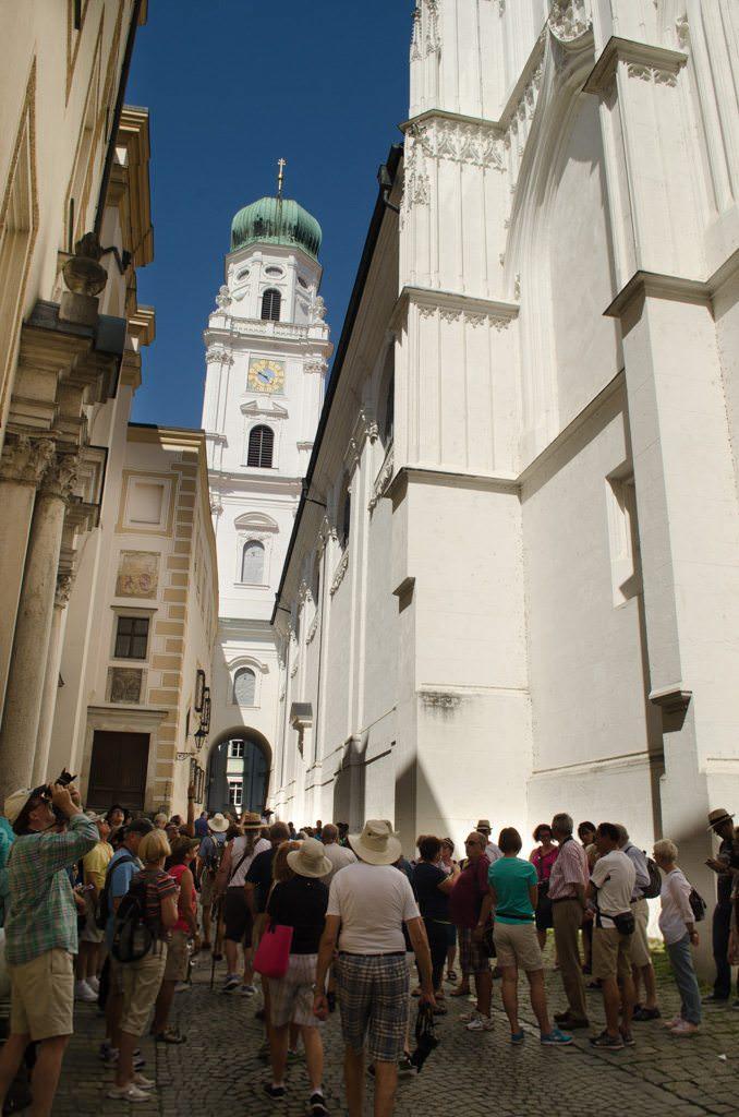 Passau's imposing Dom. Photo © 2015 Aaron Saunders