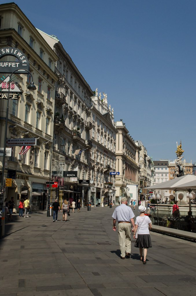 Take the time to explore Vienna - and do as the locals do! Photo © 2015 Aaron Saunders