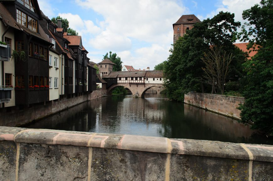 This morning, we continued with our scheduled tour program with a morning in Nuremberg! Photo © 2015 Aaron Saunders