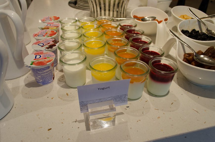 Try the homemade fruit-topped yogurt; it's spectacular. Photo © 2015 Aaron Saunders