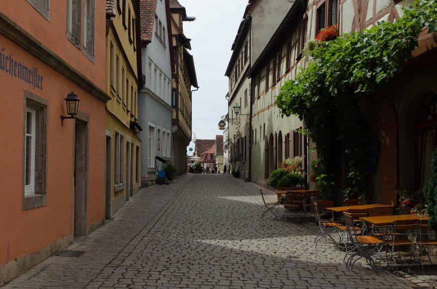 ...of Rothenburg ob der Tauber. Photo © 2015 Aaron Saunders