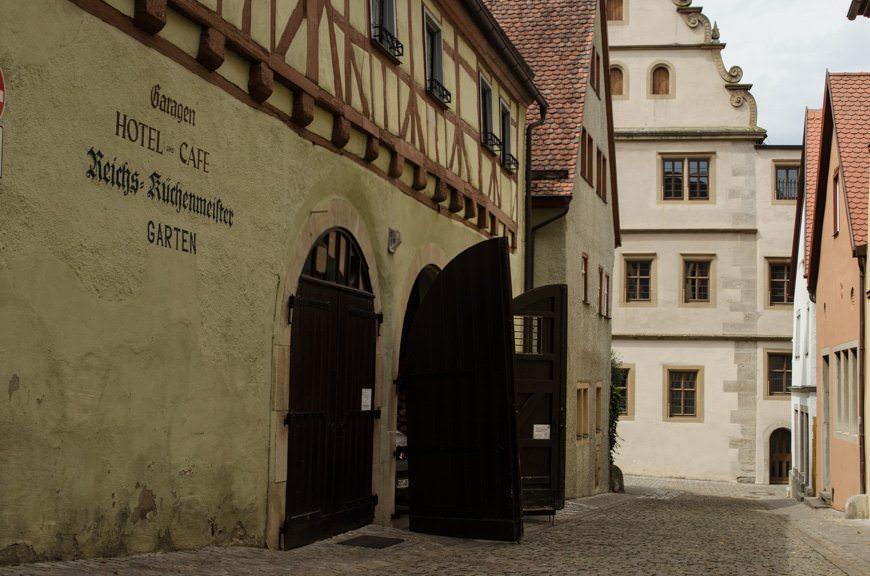 Walk the medieval streets... Photo © 2015 Aaron Saunders