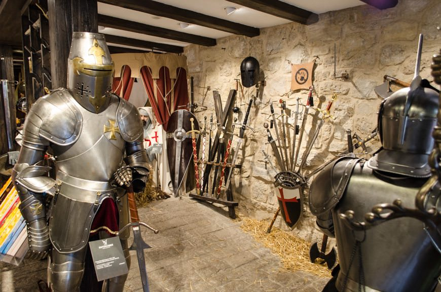 Need a new suit of armor? Waffenkammer can hook you up! Photo © 2015 Aaron Saunders