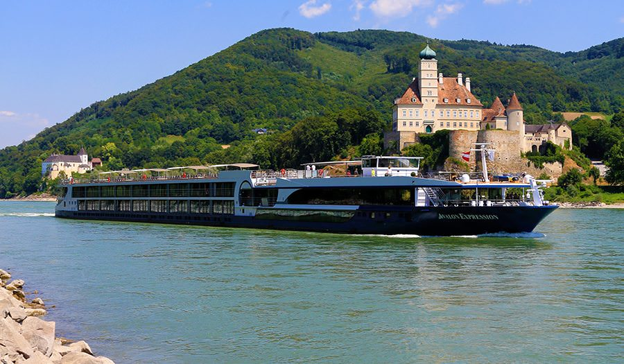 Avalon Expression on the Danube River in Austria's Wachau Valley. Photo Courtesy of Avalon Waterways.