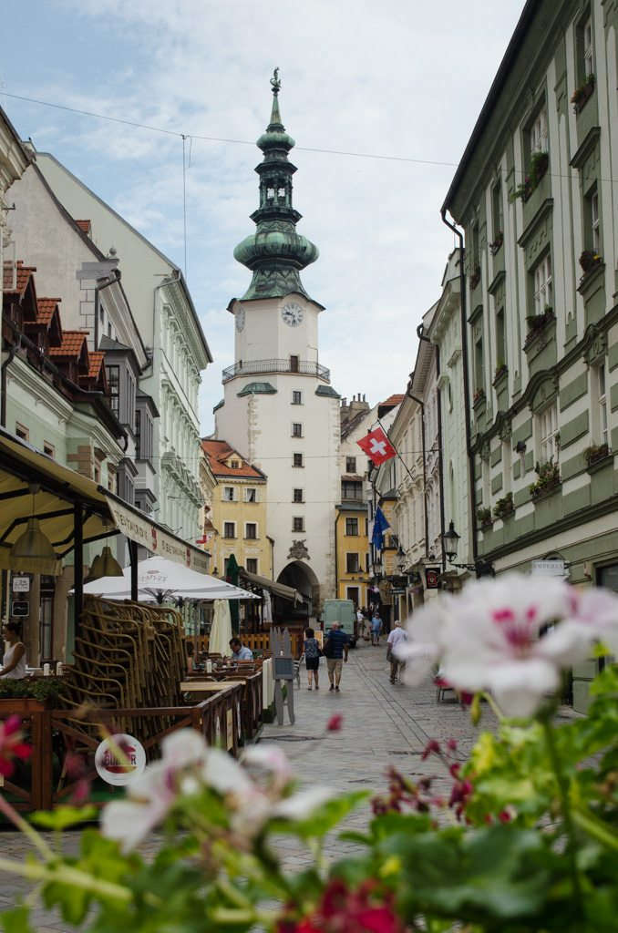 It might be quiet, but Bratislava certainly is pretty in the sleepy hours of morning. Photo © 2015 Aaron Saunders