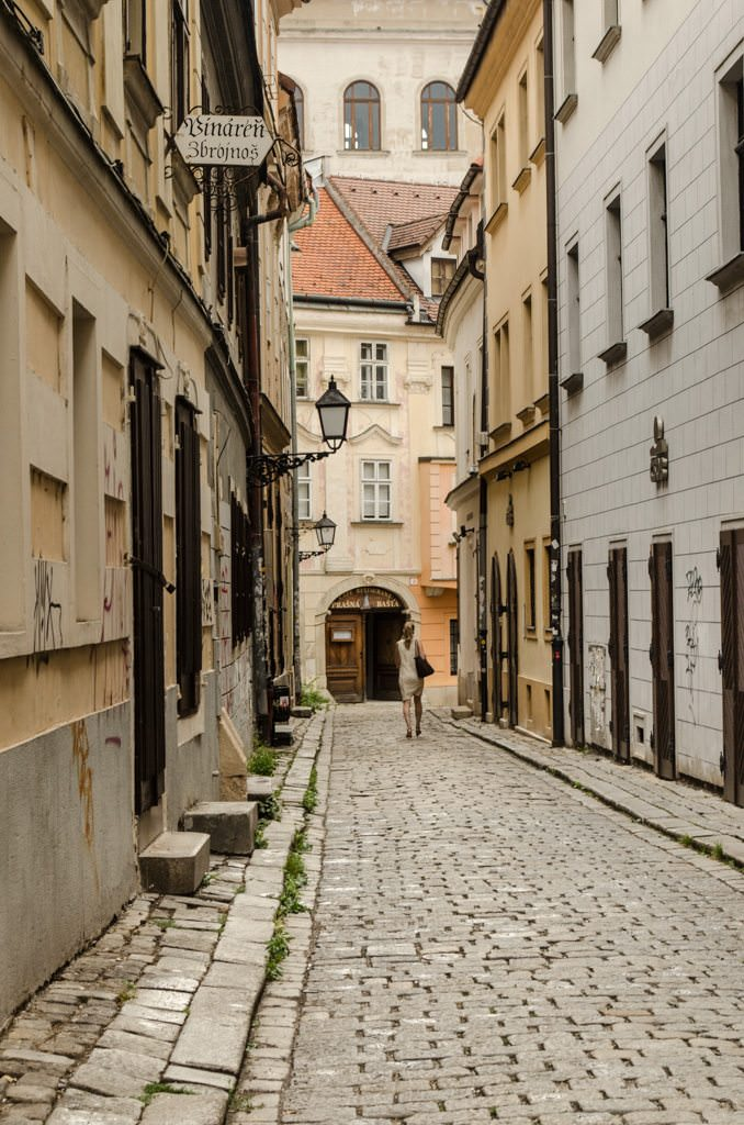 Get lost in the quiet streets of Bratislava. Photo © 2015 Aaron Saunders