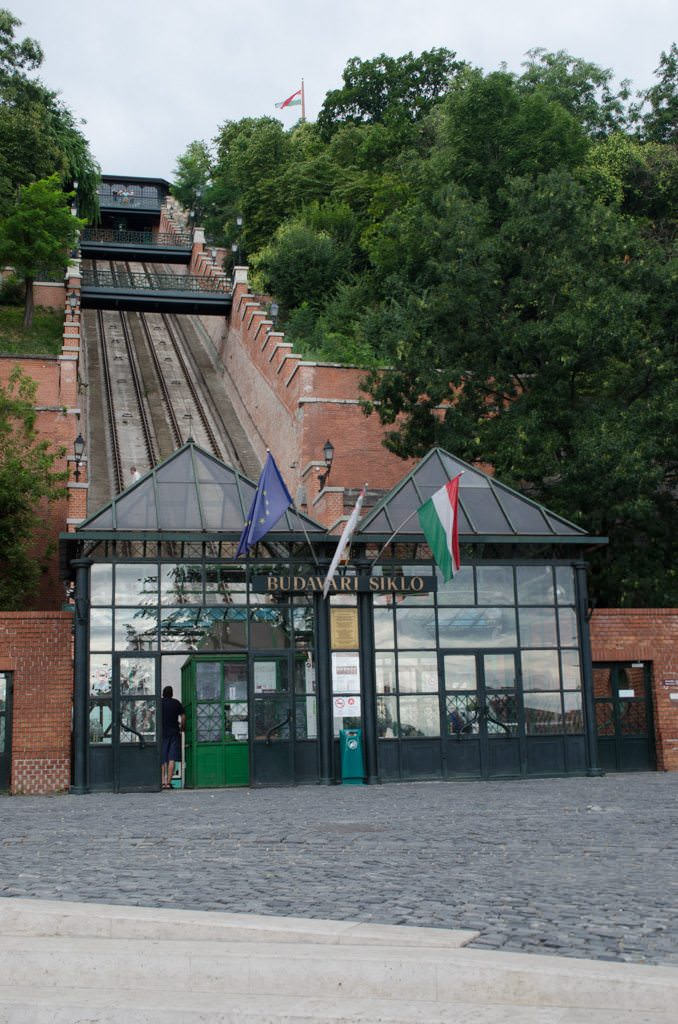 ...before arriving at the base of the Funicular. Photo © 2015 Aaron Saunders