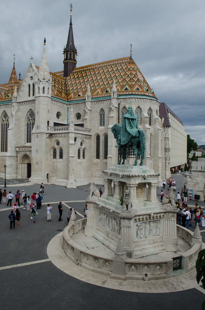 Here, guests can visit the Matthias Church...Photo ©  2015 Aaron Saunders
