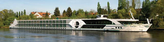 ms Esprit Travels Along the Rhine & Moselle Rivers . Photo Courtesy of Tauck.