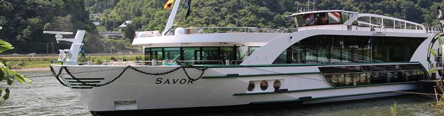 ms Savor on the Danube River. Photo Courtesy of Tauck.
