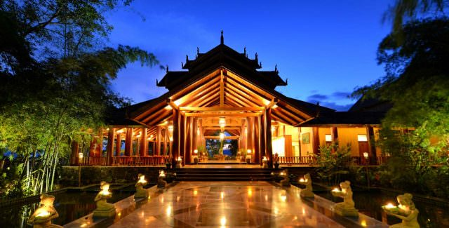 On the land portion of Viking's Myanmar Explorer river cruise tour, guests are treated to two nights at the Inle Areum Palace Hotel. Photo courtesy of Areum Palace Hotels & Resorts.