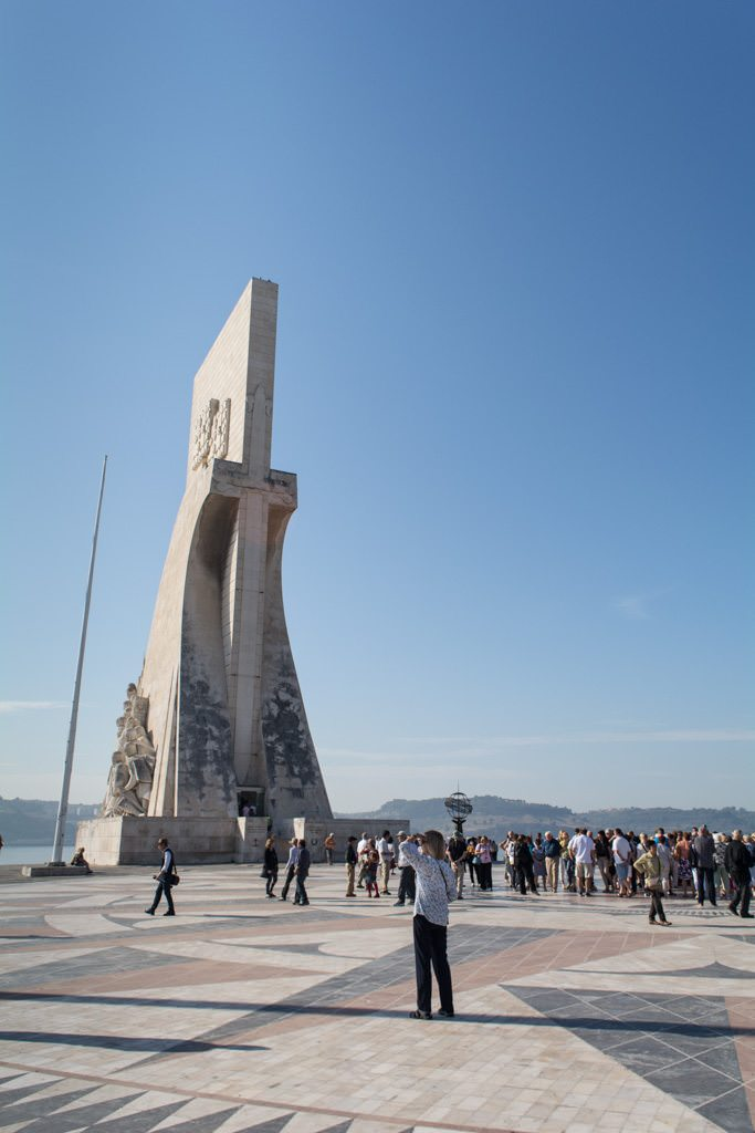The Monument to the Discoveries highlights the golden age of Portuguese explorers. Photo © 2015 Aaron Saunders