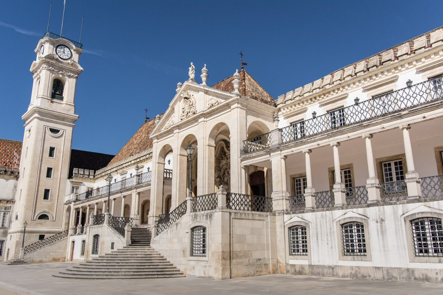 Coimbra University is one of the oldest institutions in the world. Photo © 2015 Aaron Saunders
