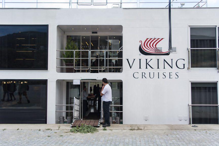 Disembarking Viking Torgil this morning...Photo © 2015 Aaron Saunders