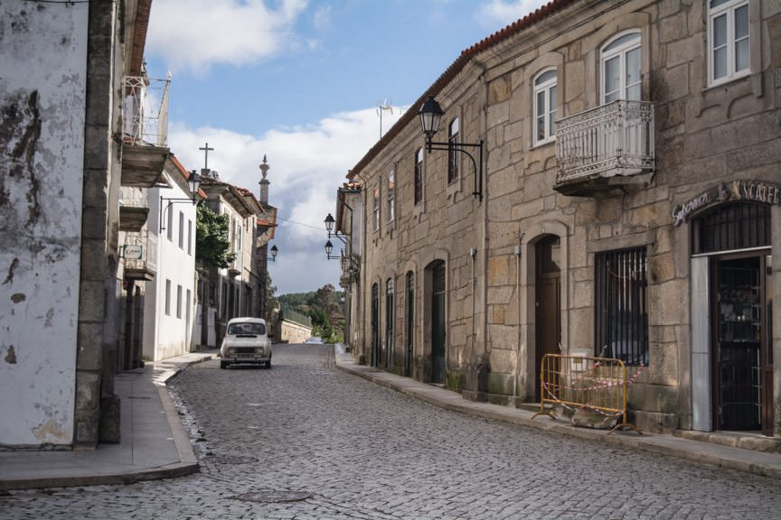 Welcome to the village of Favios, Portugal! Photo © 2015 Aaron Saunders