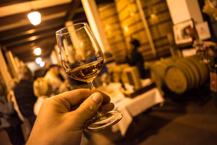 Port wine tastings play a huge role in this itinerary. Photo © 2015 Aaron Saunders