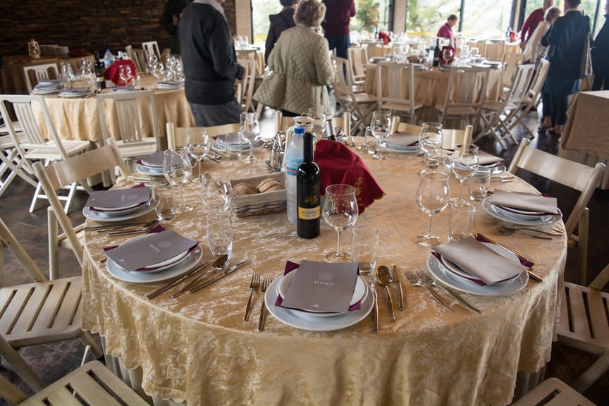 ...and our lunch at the winery was the best we've had so far on this trip. Photo © 2015 Aaron Saunders
