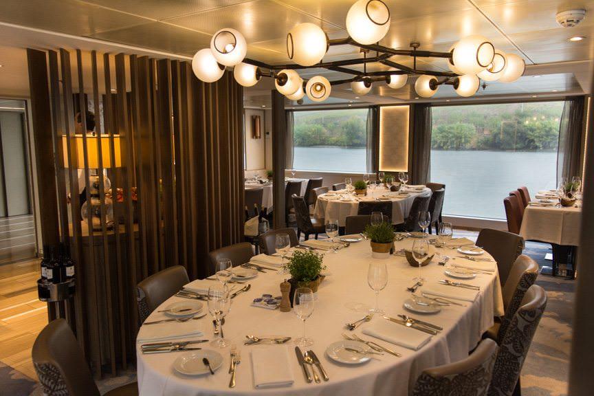 The gorgeous restaurant. Photo © 2015 Aaron Saunders