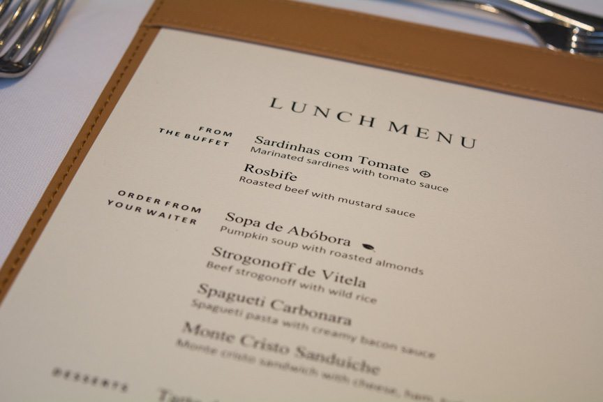 Today's Lunch Menu. Photo © 2015 Aaron Saunders