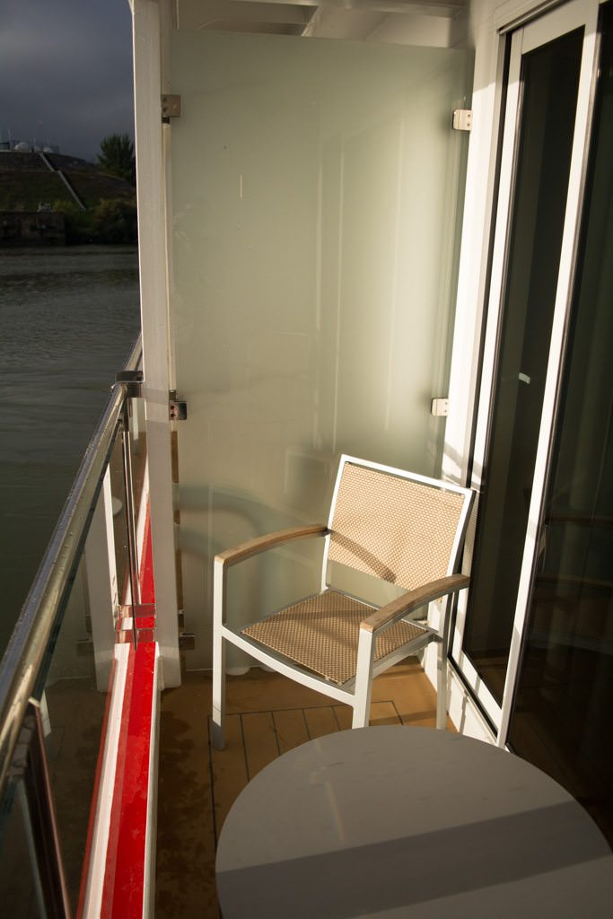 ...from the balcony of my suite aboard Viking Torgil. Photo © 2015 Aaron Saunders