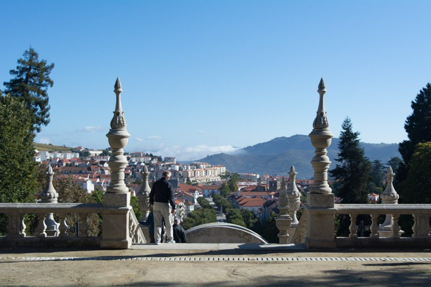 Let's walk to Lamego! Photo © 2015 Aaron Saunders