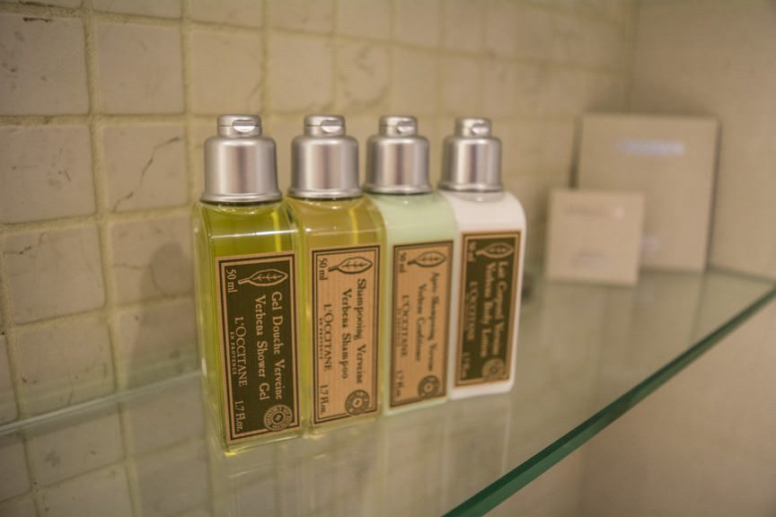 Suites still boast L'Occitane toiletries, like all accommodations aboard Viking's ships. Photo © 2015 Aaron Saunders