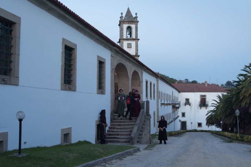...and stopped for a spectacular dinner ashore at the Alpendurada Monastery. Photo © 2015 Aaron Saunders
