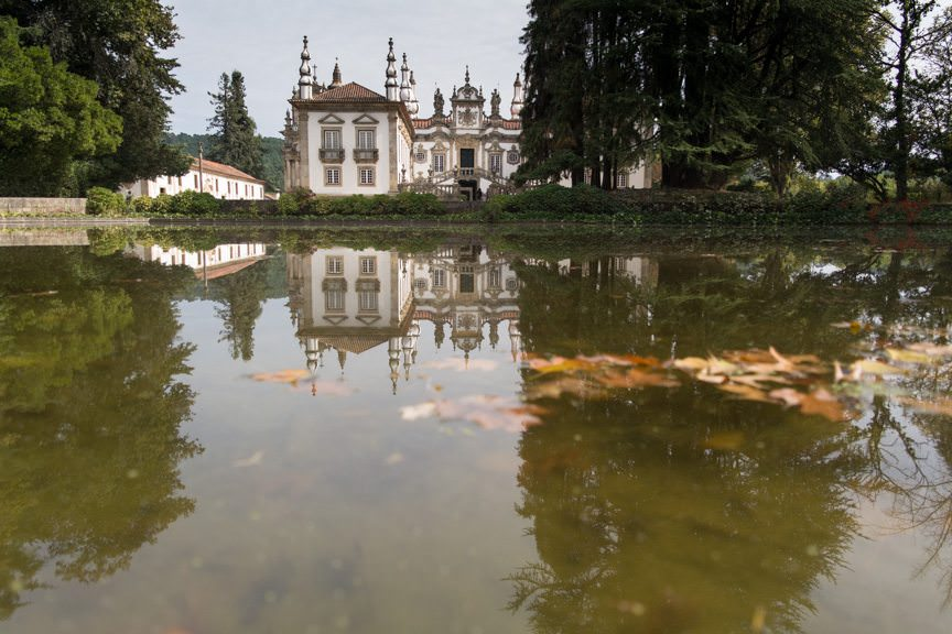 ...for our excursion to the Mateus Palace! Photo © 2015 Aaron Saunders