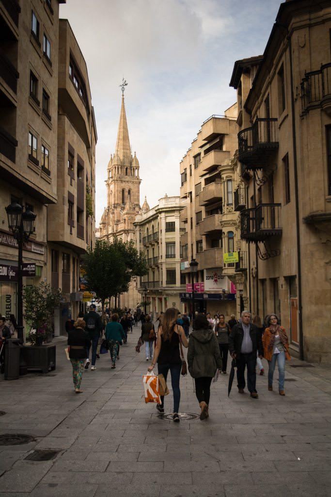 Good Morning, Salamanca! Photo © 2015 Aaron Saunders