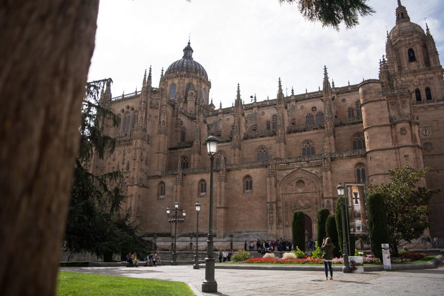"The ""New"" Cathedral in Salamanca dates back to 1513. Photo © 2015 Aaron Saunders"