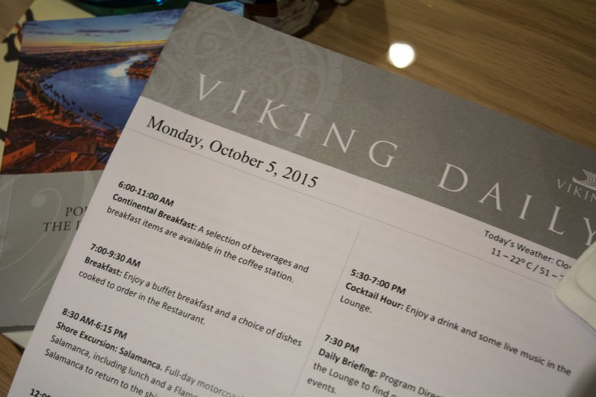 ...and an evening of activities aboard Viking Torgil. Photo © 2015 Aaron Saunders