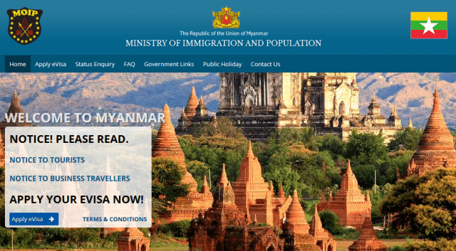 Myanmar recently launched a new e-Visa service for travellers.