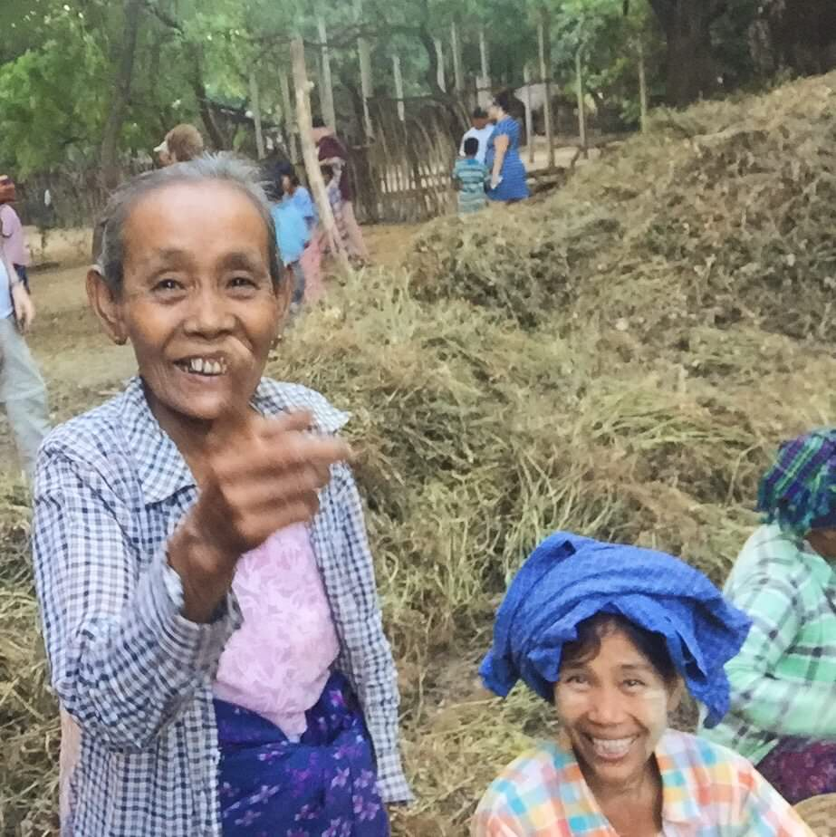 "This village elder didn't quite understand the iPhone selfie trick as well as the kids did and so she shied away. When I flipped it and showed her what I was up to, however, she laughed deeply, pointed at her own face, and hit the woman next to her on the shoulder as if to say, ""LOOK! IT'S ME!"" © 2015 Gail Jessen"
