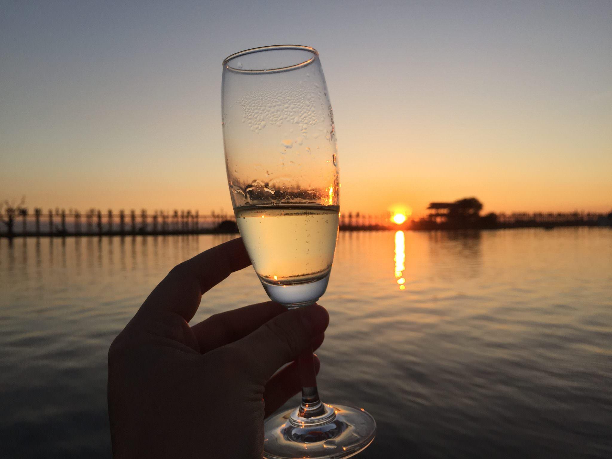 """""""Cha Kwa!"""" Cheers in Burmese! © 2015 Gail Jesen"""