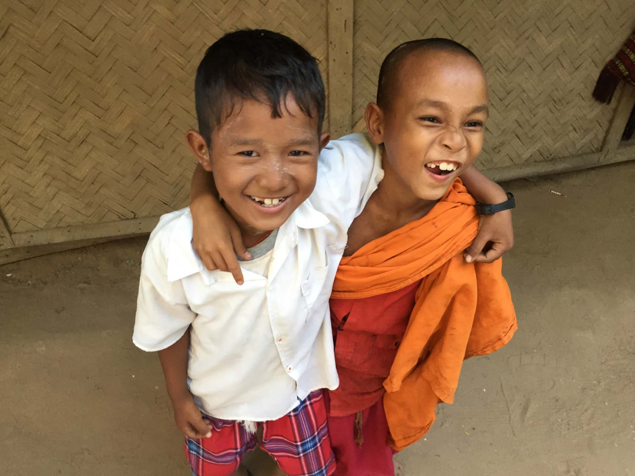 Two young boys, one a novice monk, decided to adopt me. They didn't leave my side for hours. Every minute or so I'd snap a new photo of them, per request, and we'd carry on. © 2015 Gail Jessen