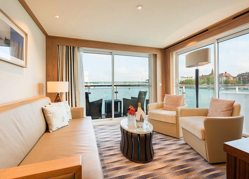 Viking Forseti Explorer Suite. Photo Courtesy of Viking River Cruises.