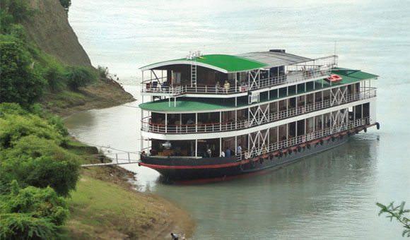 Viking Mandalay is what interests Aaron most - along with the logistics of this incredible journey itself. Photo courtesy of Viking River Cruises