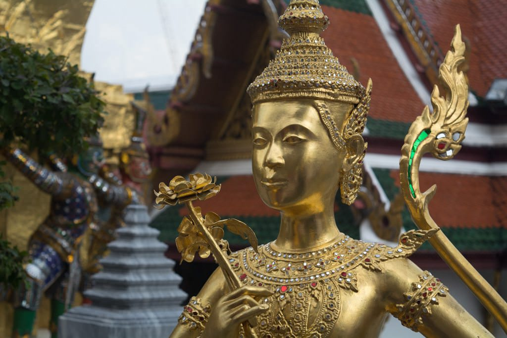 Today, we explored the vibrant city of Bangkok, Thailand with Viking River Cruises. Photo © 2015 Aaron Saunders