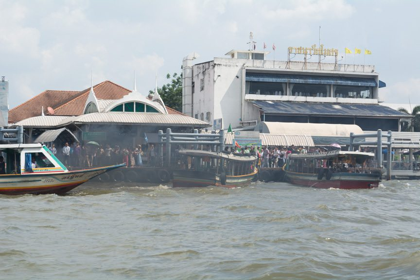 Ferry traffic at the Grand Palace launch. Photo © 2015 Aaron Saunders