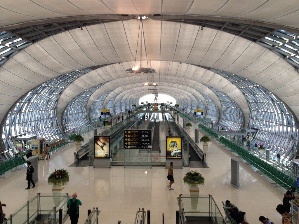 Back at Bangkok Airport. Wait - wasn't I just here? Photo © 2015 Aaron Saunders