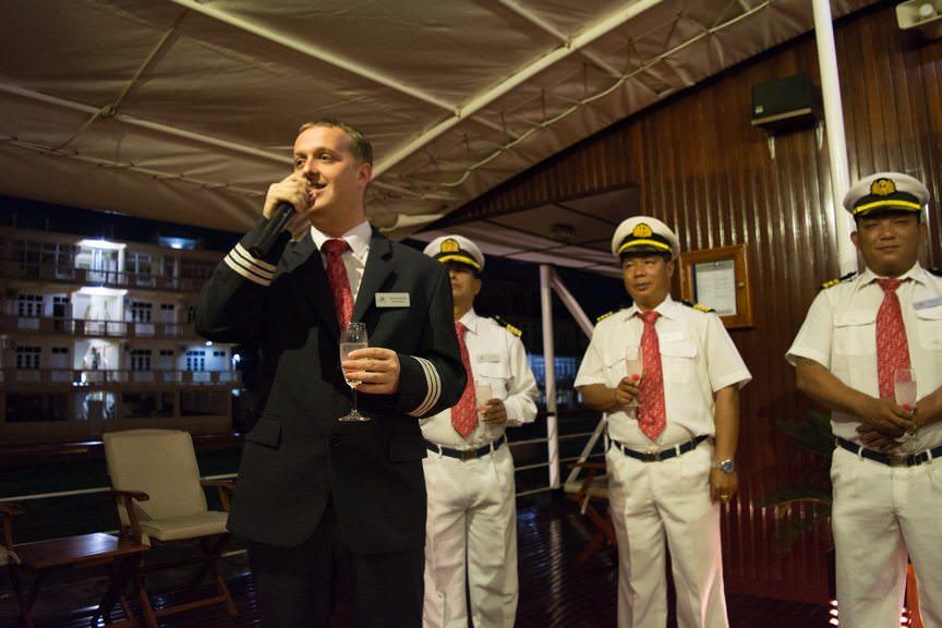 Hotel Manager Dominik...Photo © 2015 Aaron Saunders