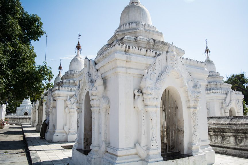 A UNESCO World Heritage Site, Kathadataw Palace is a must-see on any visit to Mandalay. Photo © 2015 Aaron Saunders