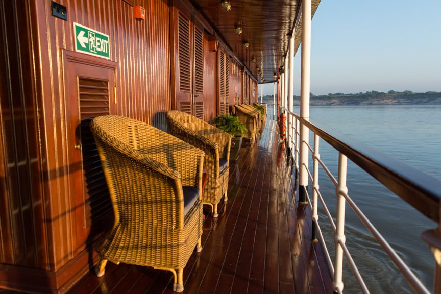 Sailing the Irrawaddy River with Viking River Cruises: a magical experience. Photo © 2015 Aaron Saunders