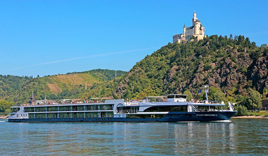 Avalon Imagery II on the Rhine River. Photo courtesy of Avalon Waterways.