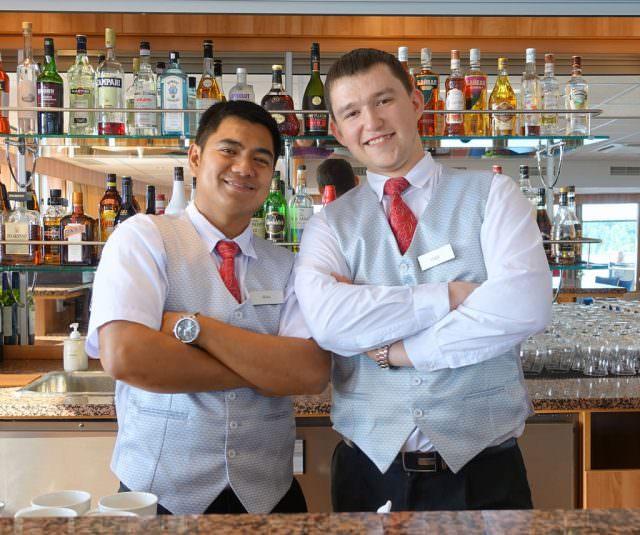 Bartenders Alex and Vlad strike a pose - © K.D. Leperi