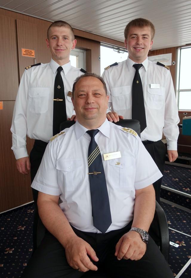 Captain Igor Stepanov and crew - © K.D. Leperi